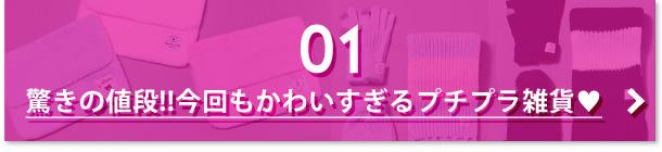 01 驚きの値段!!今回もかわいすぎるプチプラ雑貨♥